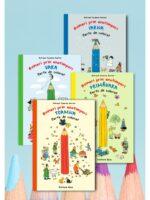 Pachet carti de colorat Hoinari prin anotimpuri - 4 volume